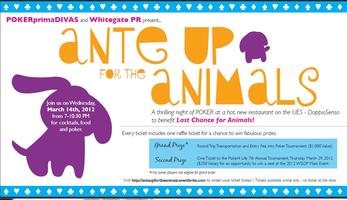 Copy1 of Ante Up For The Animals