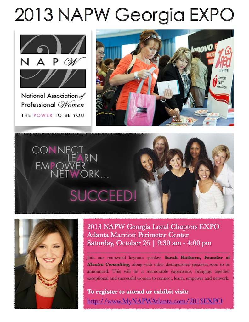 4th Annual NAPW Georgia EXPO @ Atlanta Marriott Perimeter Center | Atlanta | Georgia | United States