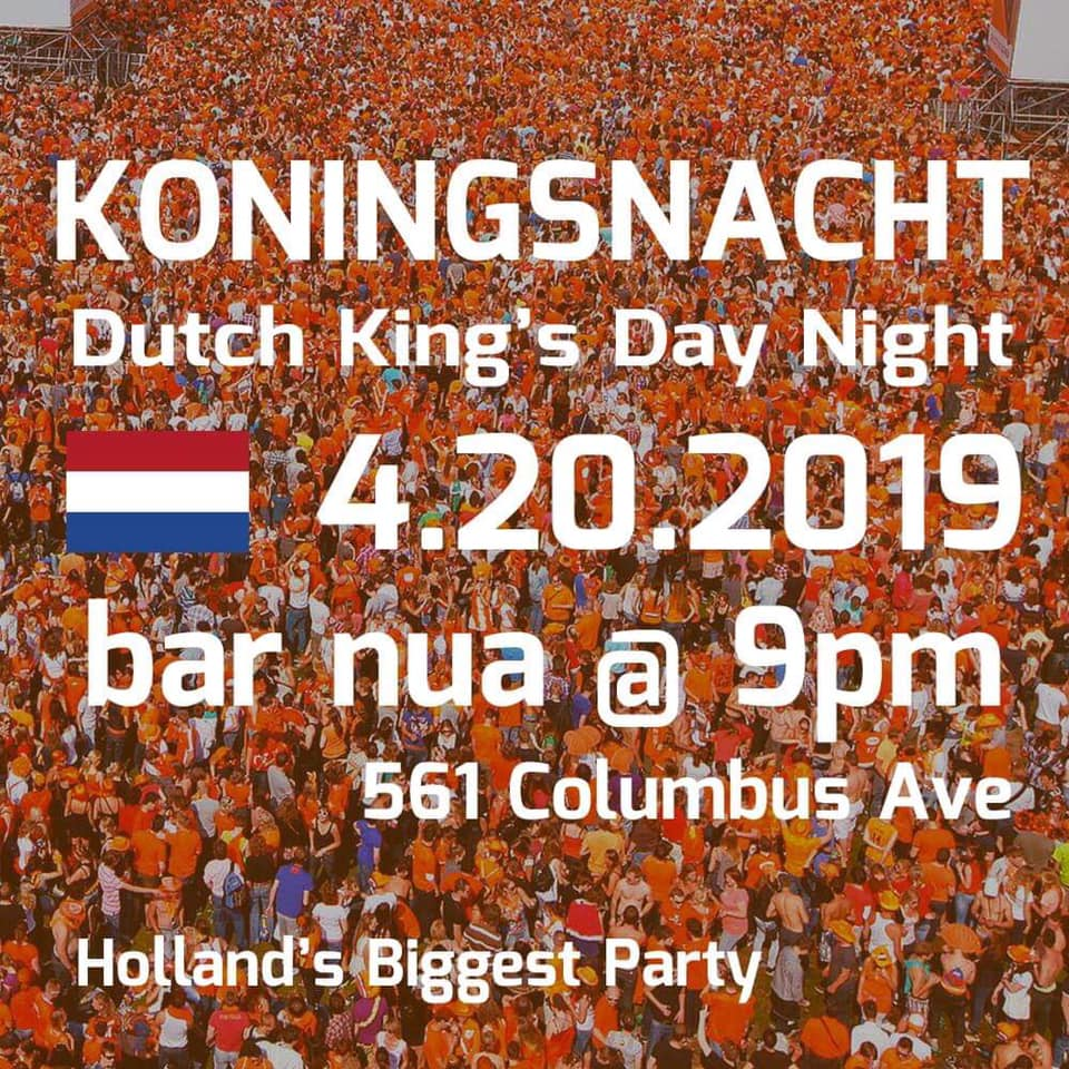 Dutch Kingsday Nacht 2019