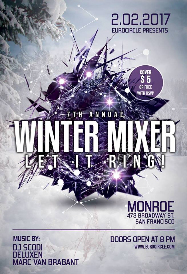 7th Annual Wintermixer for Europeans