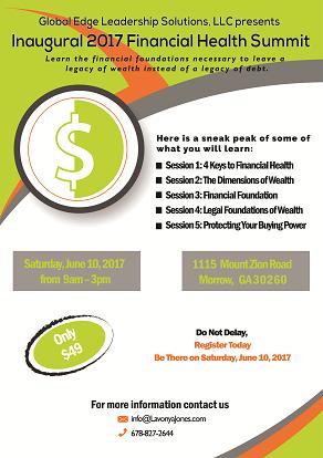 Financial Summit Flyer