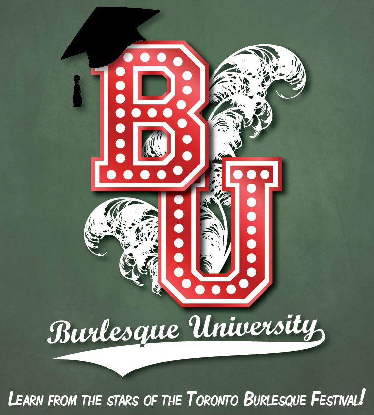 Burlesque University logo