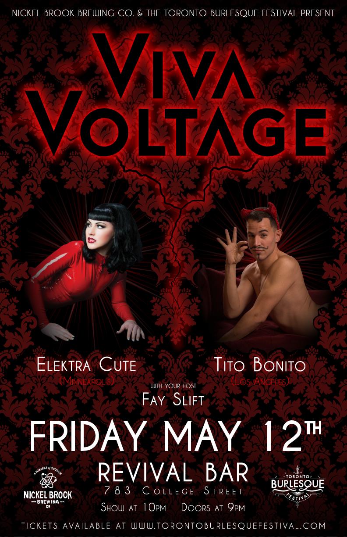 Viva Voltage event poster