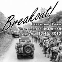 Breakout: Operation Cobra Reenactment in Chesterfield, MI (July...