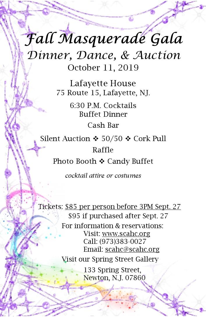2019 Gala Invitation inside