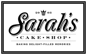 Sarah's Cake Shop Logo
