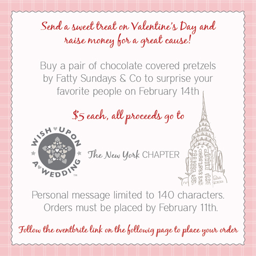 Wish Upon a Wedding New York Valentine Fundraiser