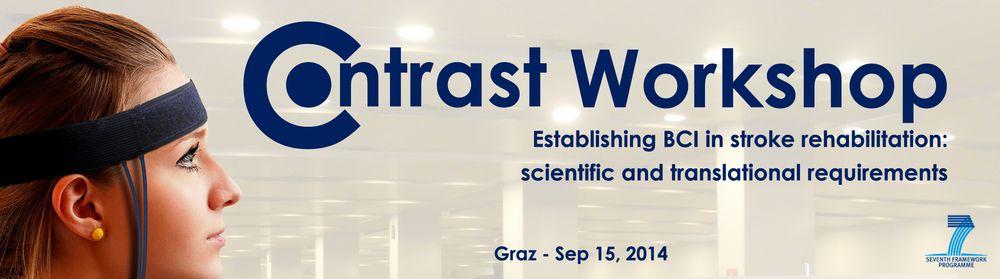 1st Contrast Workshop, Graz (Austria) - September 15, 2014