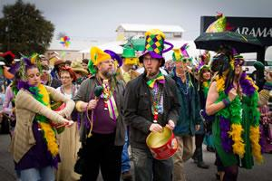Volunteer for the 3rd Annual Krewe de Columbi-Ya-Ya Mardi...