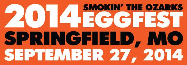 2014 EggFest Springfield Missouri Banner