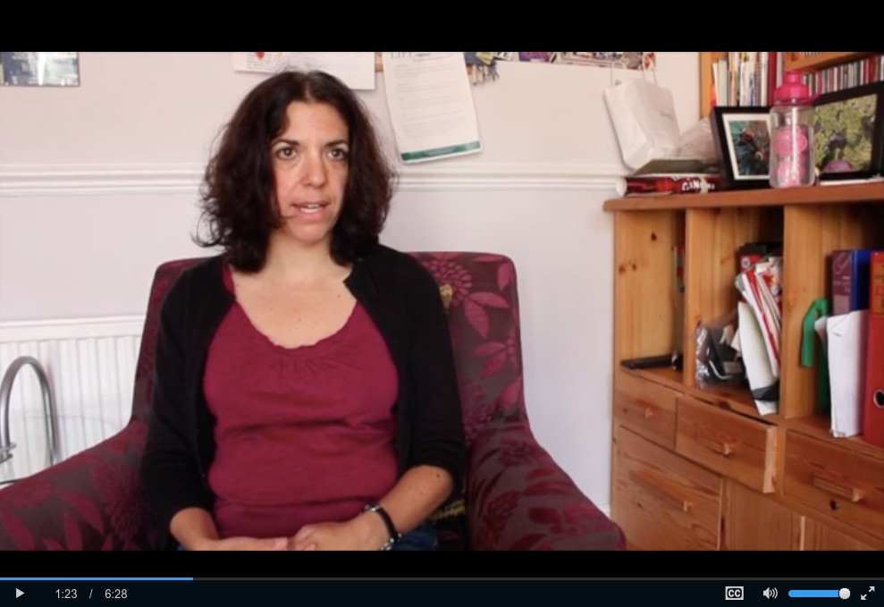 Ruth Rosselson video screen shot