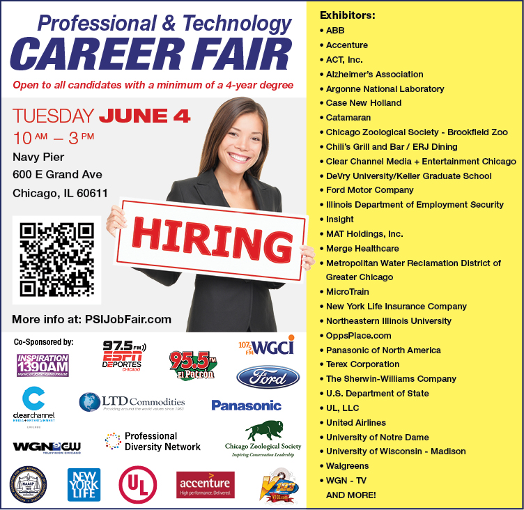 Chicago Career Fair June 4, 2013