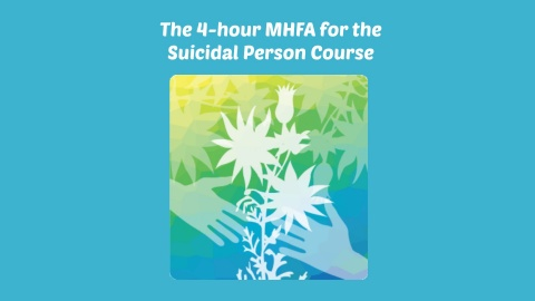 MHFA for the Suicidal Person logo