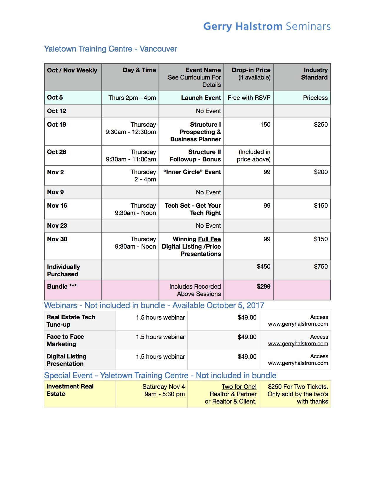 Fall 2017 Courses
