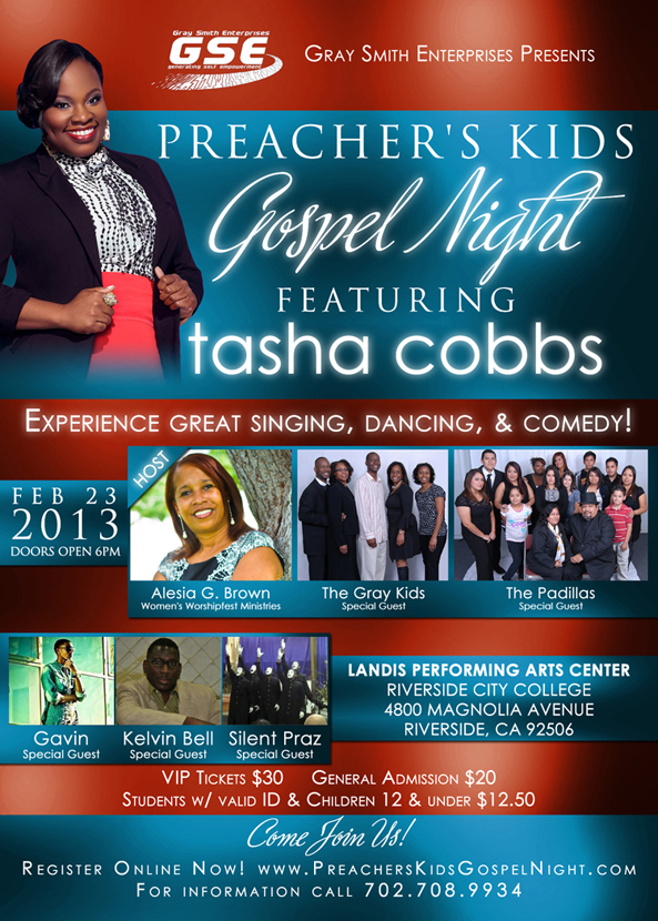 Preacher's Kids Gospel Night Ad