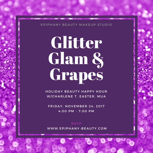 Purple Glitter and Epiphany Beauty Logo