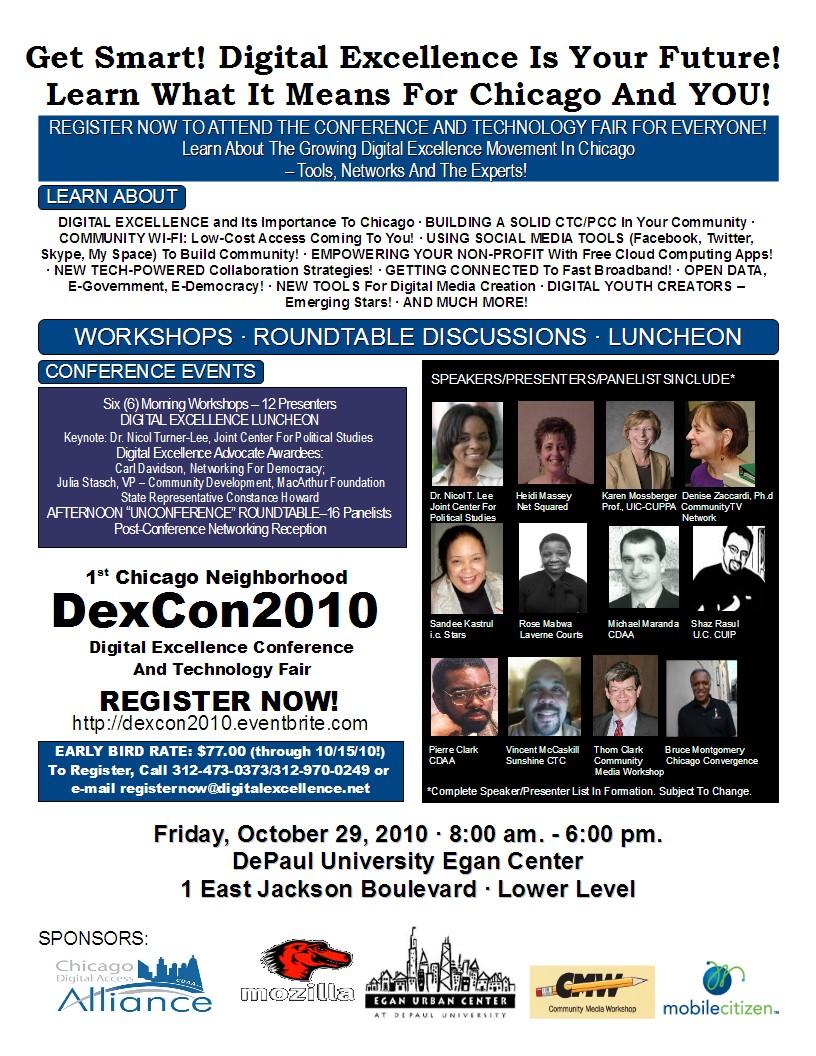 DexCon2010 - October 29 2010