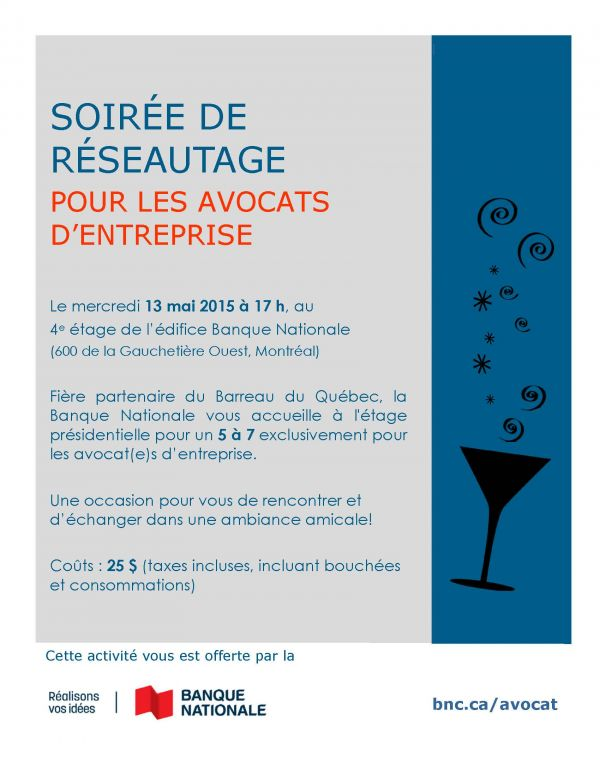 Barreau invitation