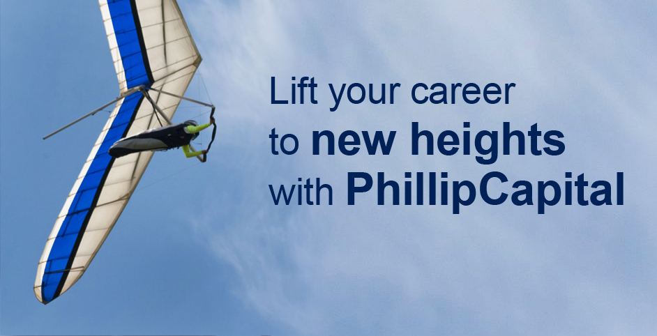 Life your career to new heights with PhillipCapital