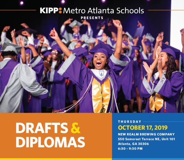Drafts & Diplomas - A Happy Hour Fundraiser Benefiting KIPP Metro Atlanta  Schools