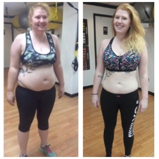 Andrea - 47 pounds lighter!