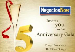 NegociosNow's 5th Anniversary Gala Dinner