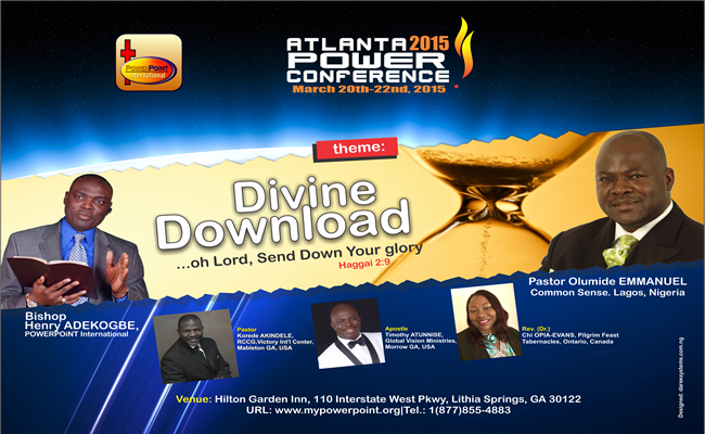 Atlanta 2015 POWER Conference