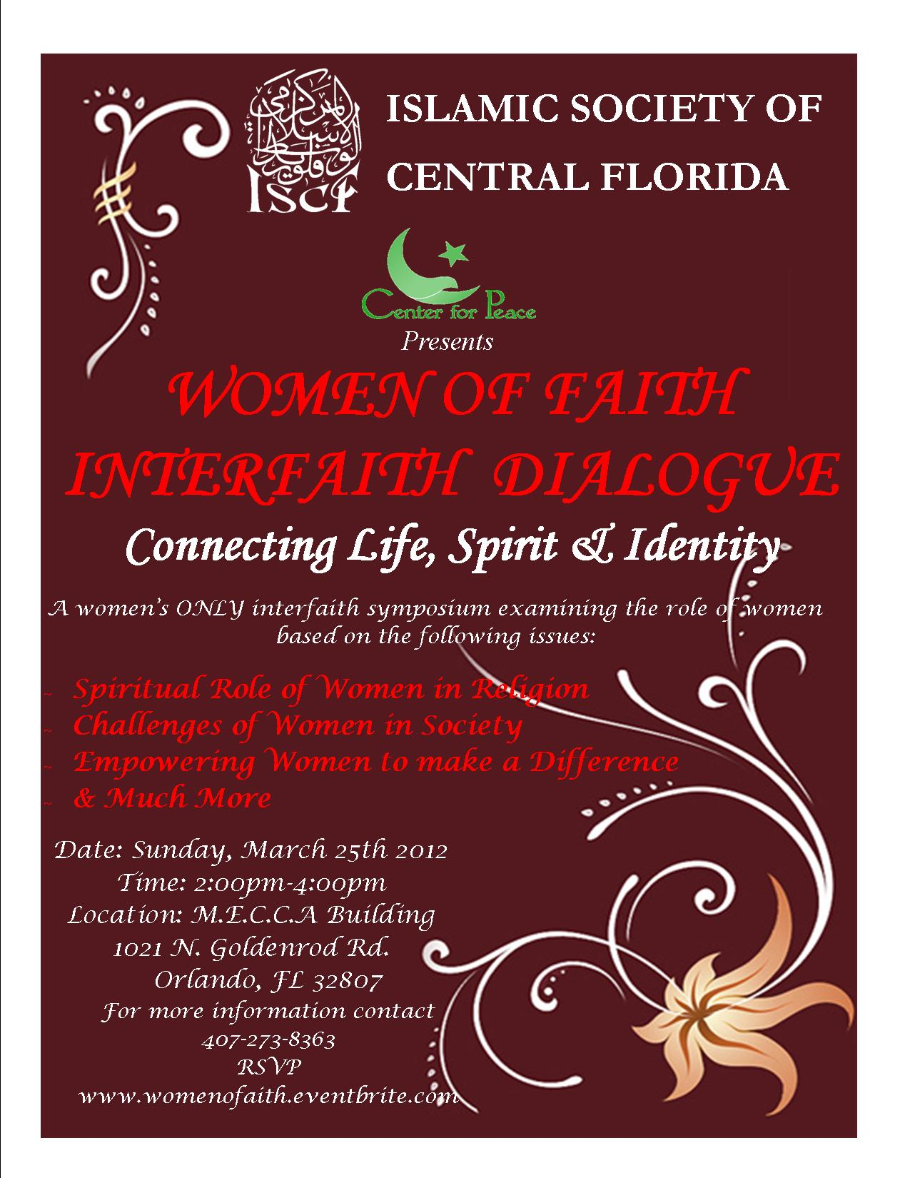 Women's Conference Flyer Template ~ Flyer Templates ~ Creative Market