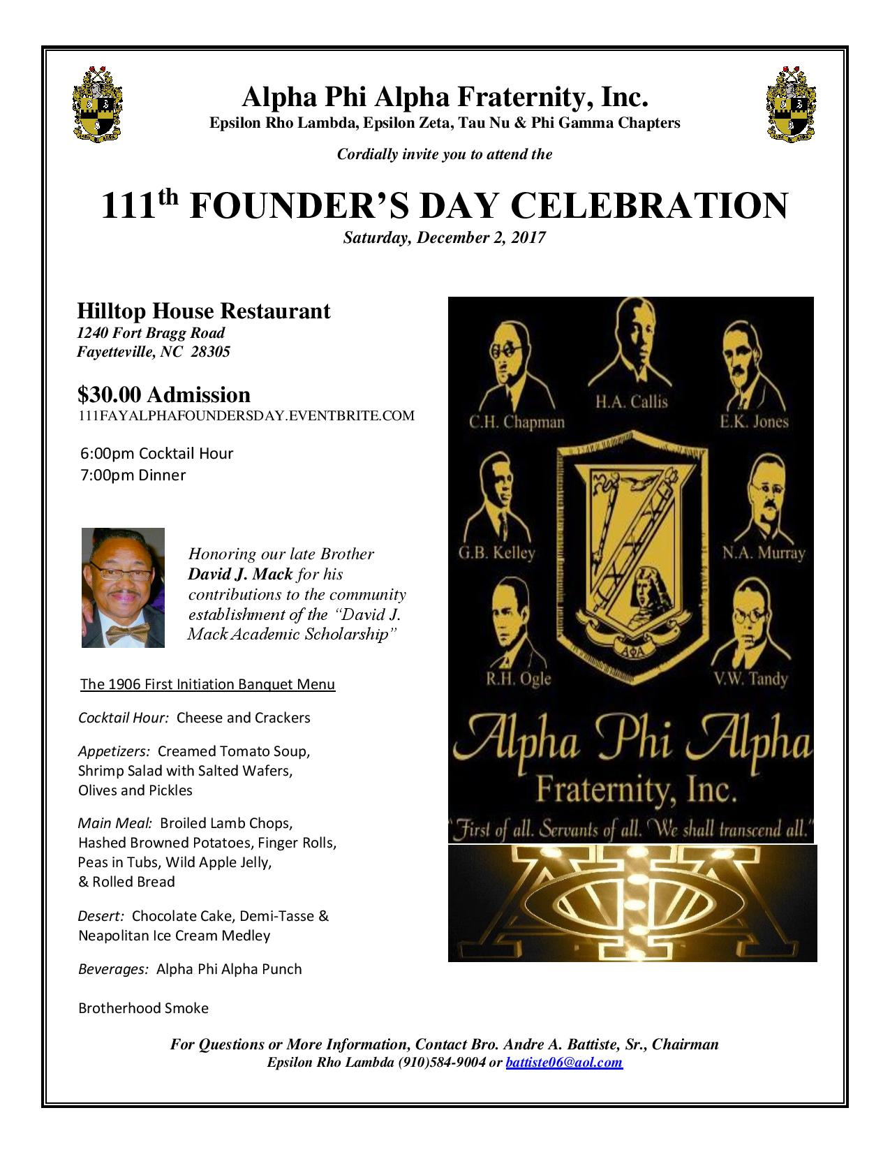 ERL Founders Day 2017