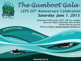 The Gumboot Gala, LEPS 20th Anniversary Celebration