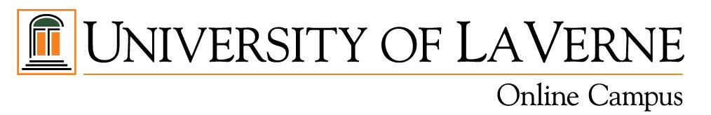 University of La Verne Online Campus Logo