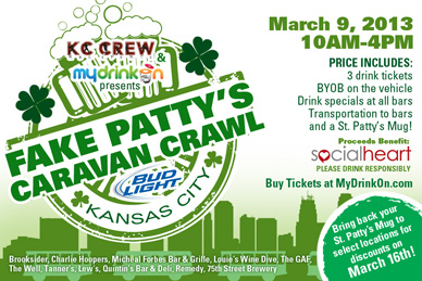 Fake Patty's Caravan Crawl