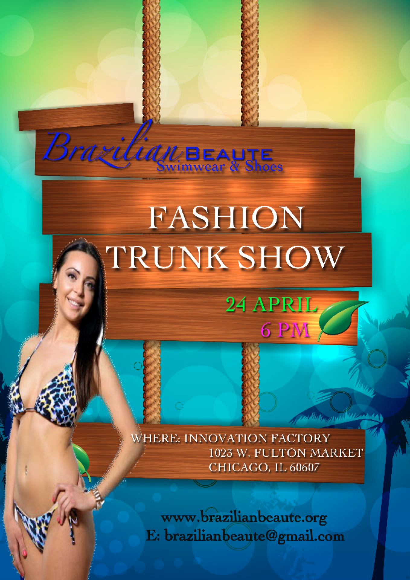 Fashion Trunk Show Flyer