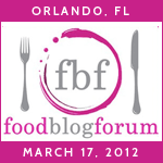 Food Blog Forum Orlando 2012!