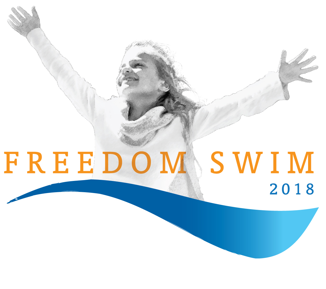 Freedom Swim 2018 logo