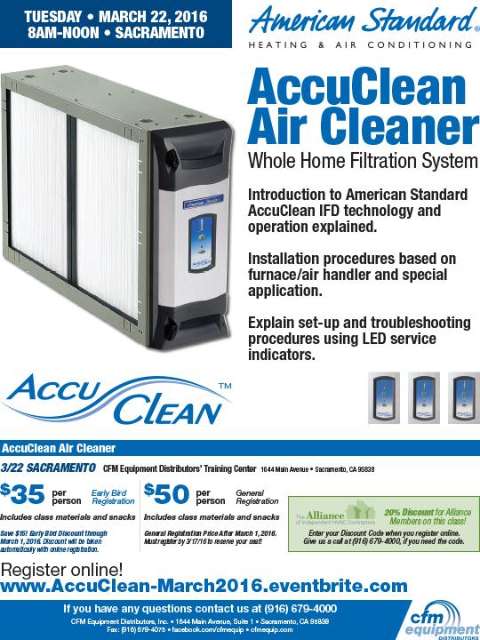 2016 0322 AS AccuClean Air Cleaner SAC-1