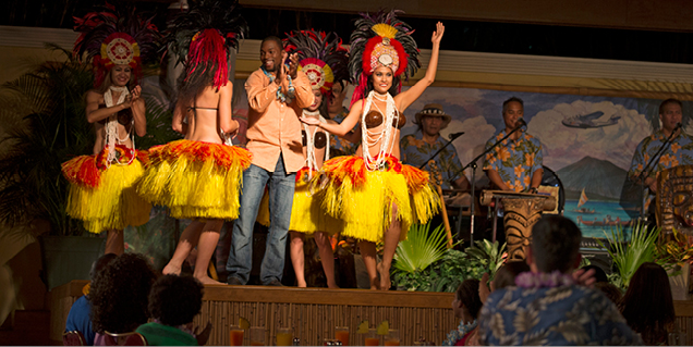 Wantilan Luau at Loews Royal Pacific Resort
