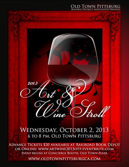 Art & Wine Stroll 2013