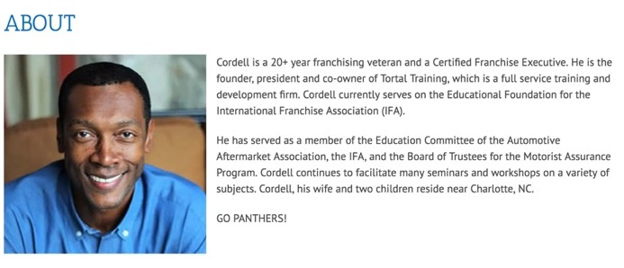 About Cordell Riley