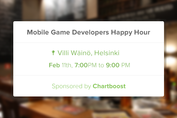 Chartboost Happy Hour