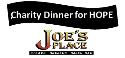 Joe's Place Charity Dinner for HOPE