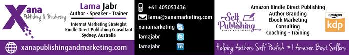 Lama Jabr - Xana Publishing and Marketing
