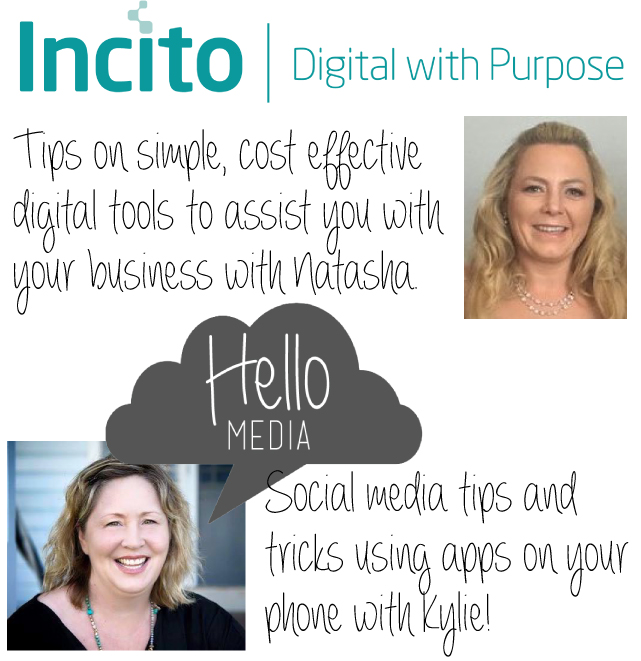 Natasha Murray and Kylie Mowbray-Allen simplify digital for your business