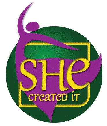 SHE Created IT Logo