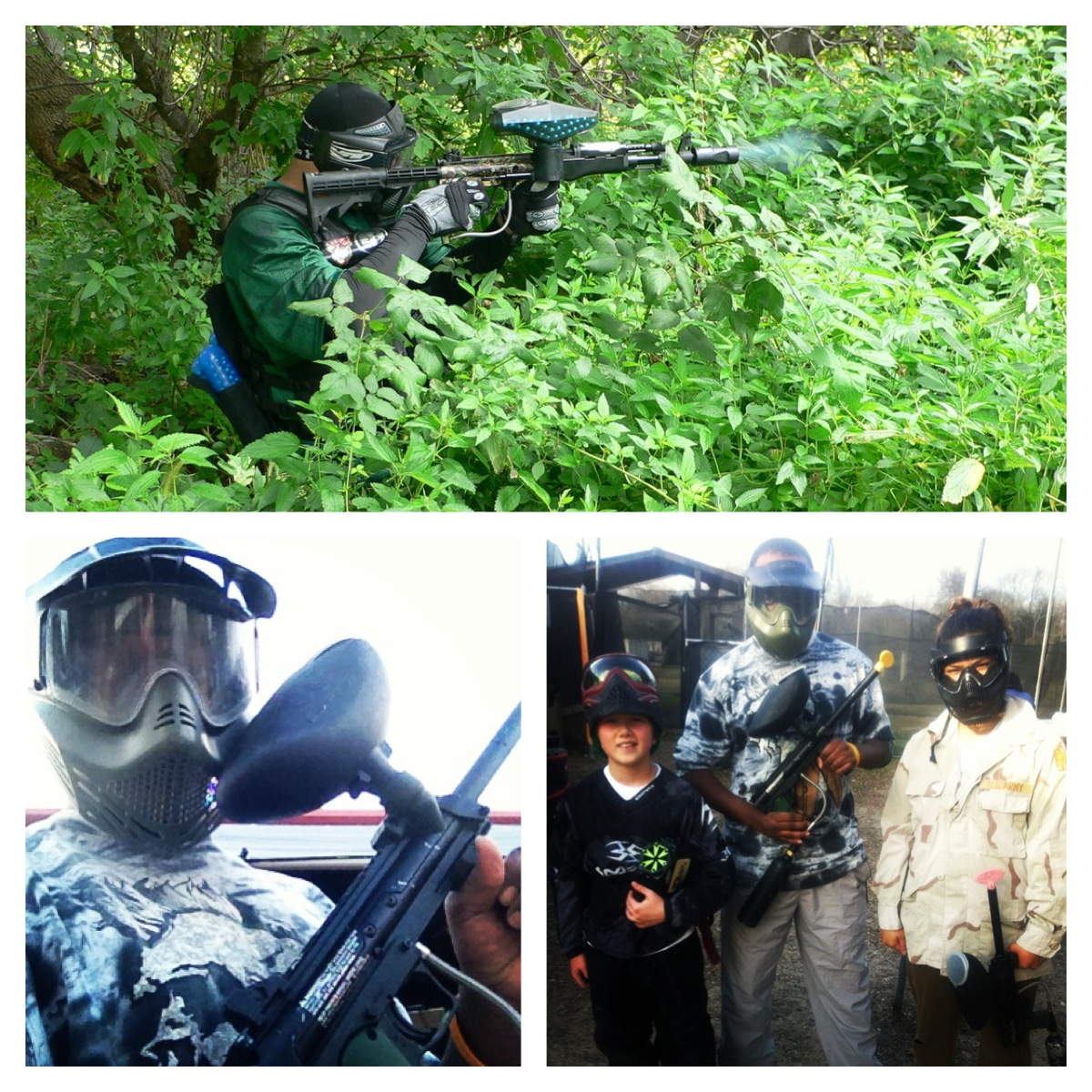 Last paintball session pic