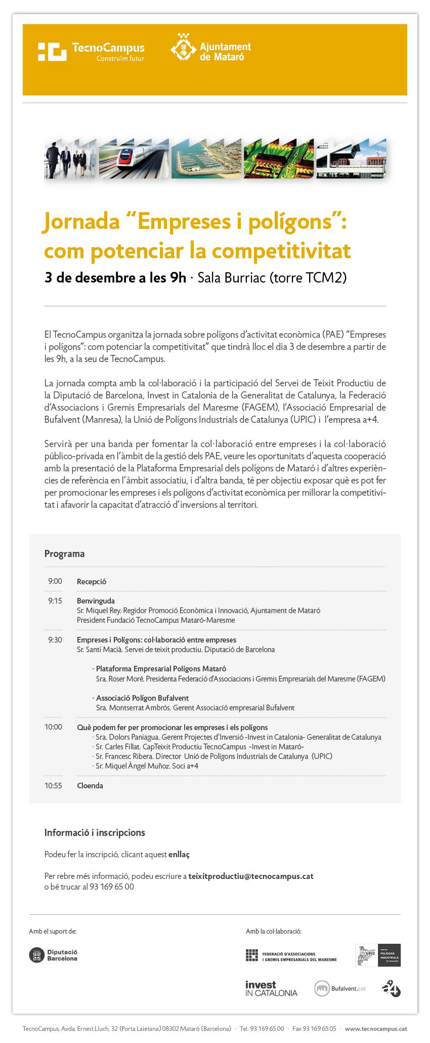 Programa PAE 3 desembre