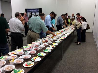 FPA 2014 Pom Taste Test Table
