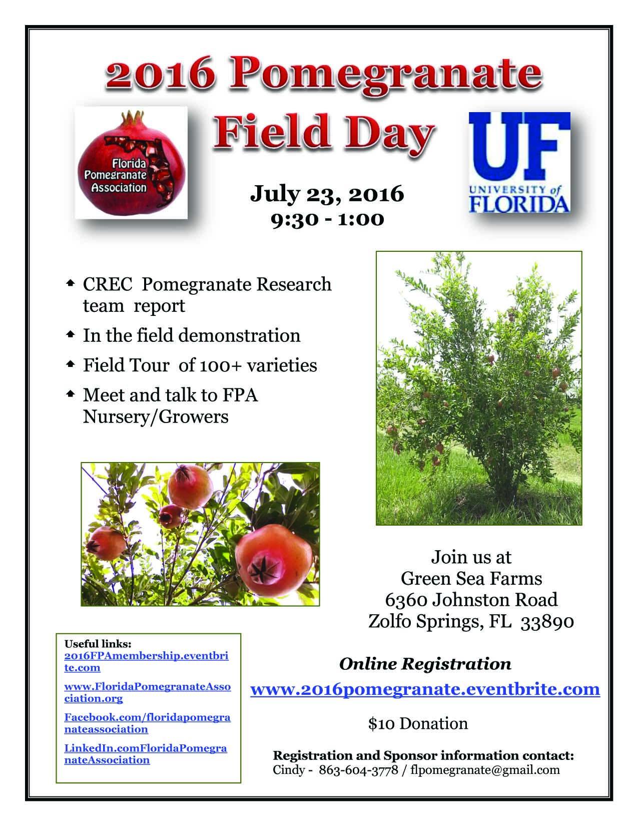 July23, 2016 FPA Field Day