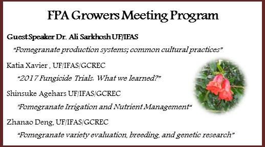 FPA Growers Meeting Program