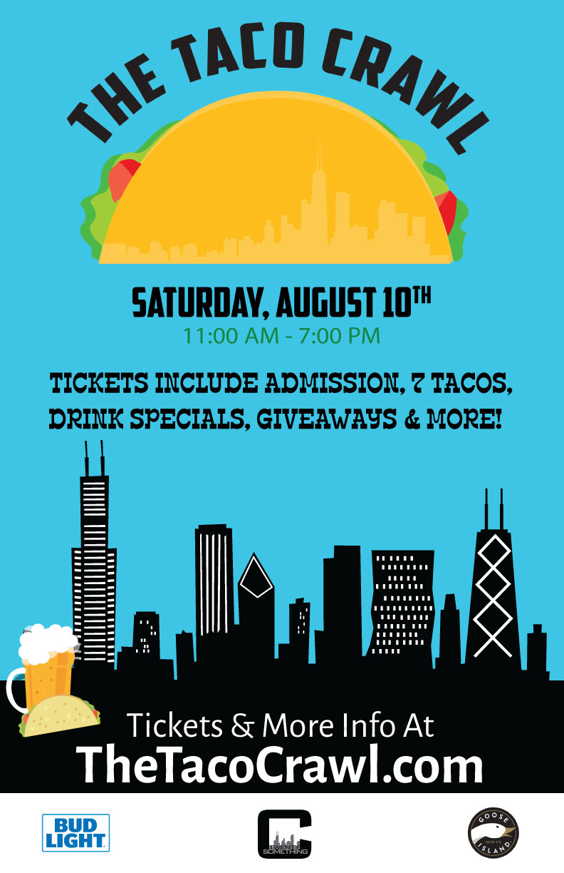 The Taco Bar Crawl Party - Tickets Include Admission, 7 Tacos, Drink Specials, Giveaways & More!